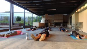 Savasana in uggboots